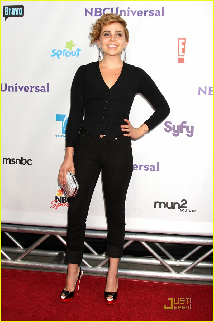 mae whitman nbc party 11