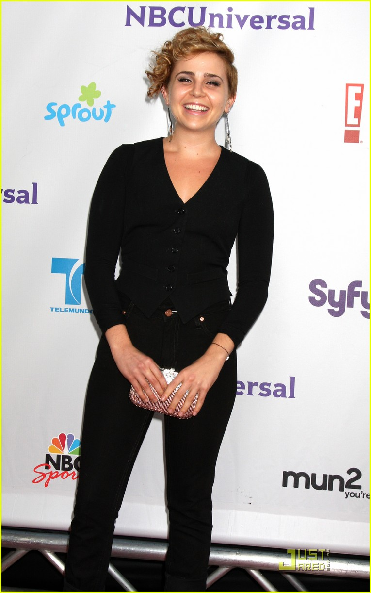 mae whitman nbc party 13
