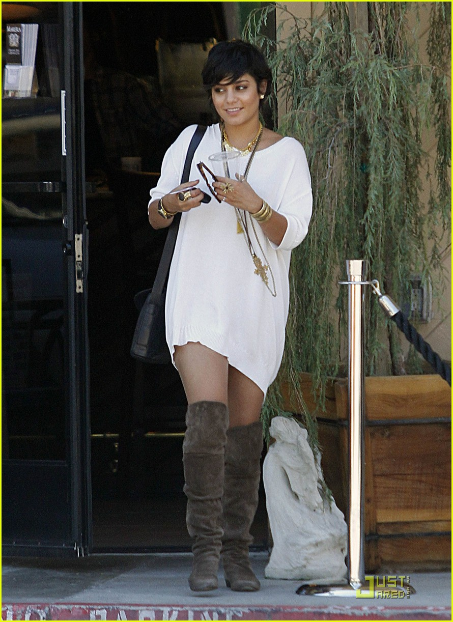 vanessa hudgens shirt dress 20