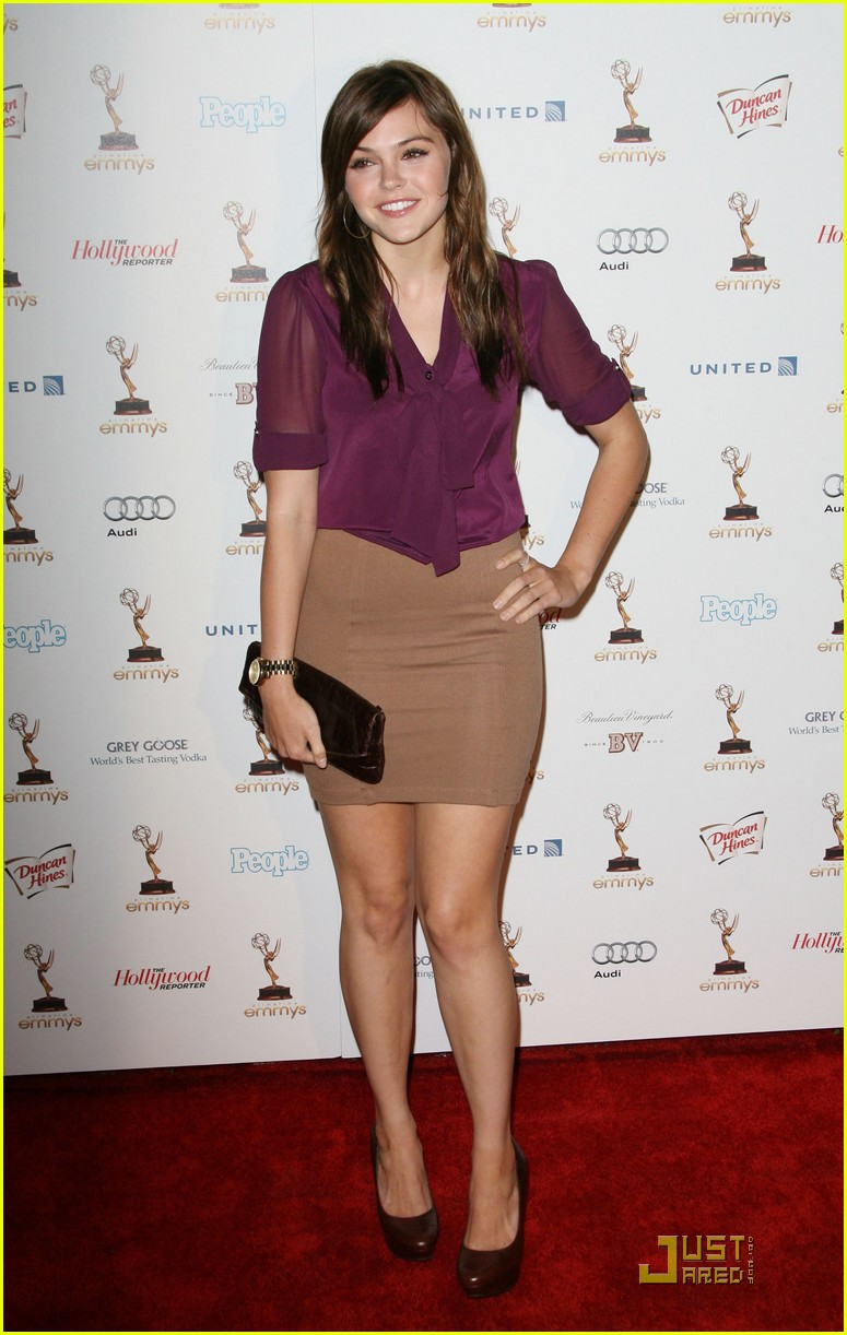 aimee teegarden emmy parties 14