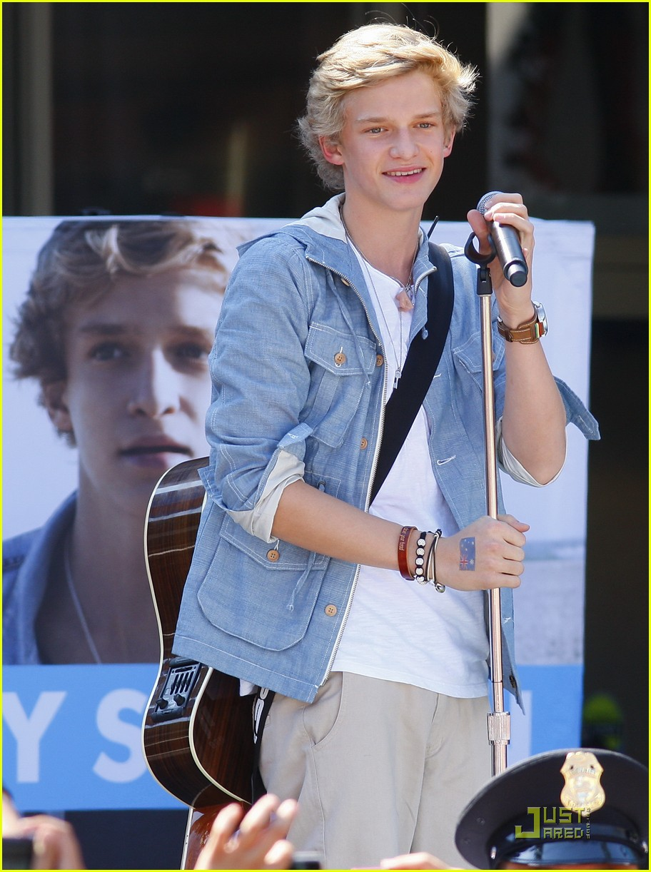 cody simpson orange concert 08