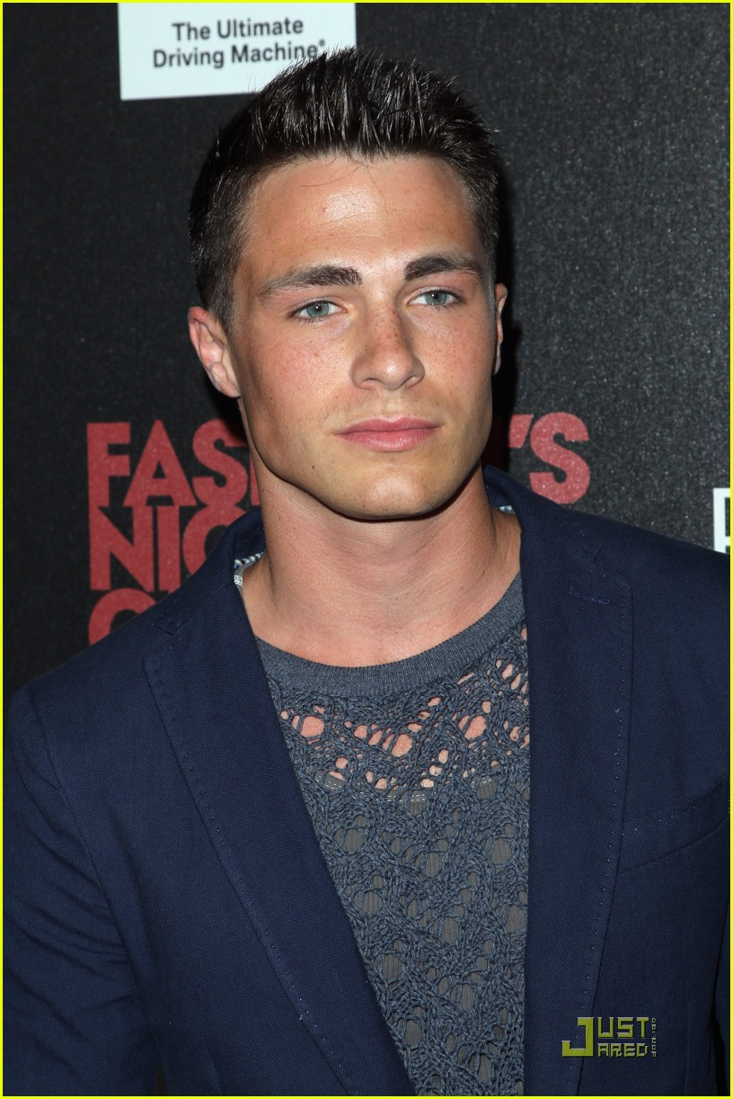 colton haynes holland fno 12