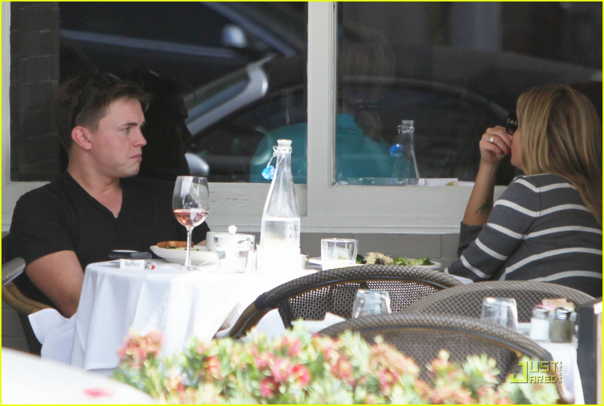jesse mccartney lunch 06