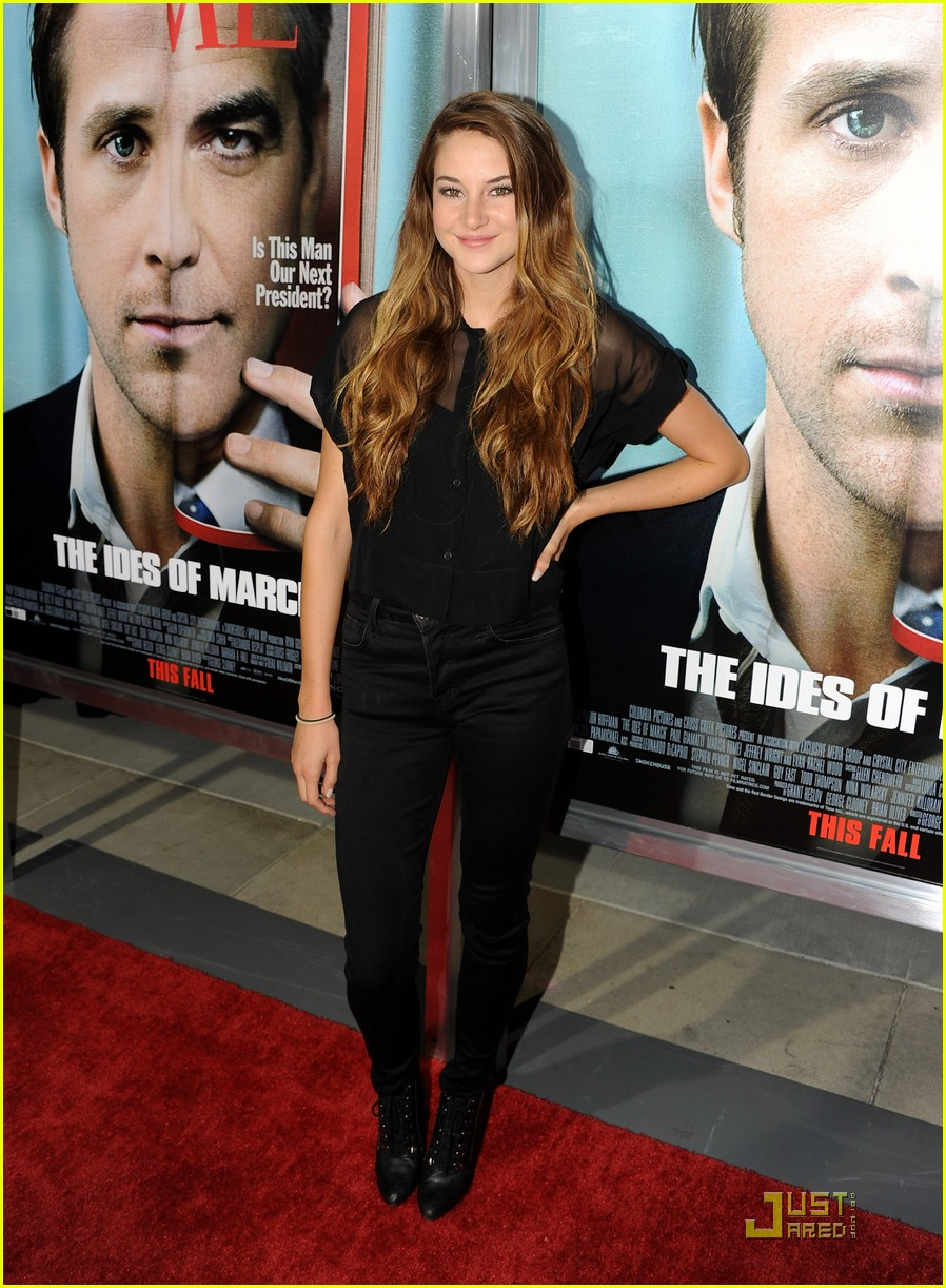 shailene woodley ides march 09