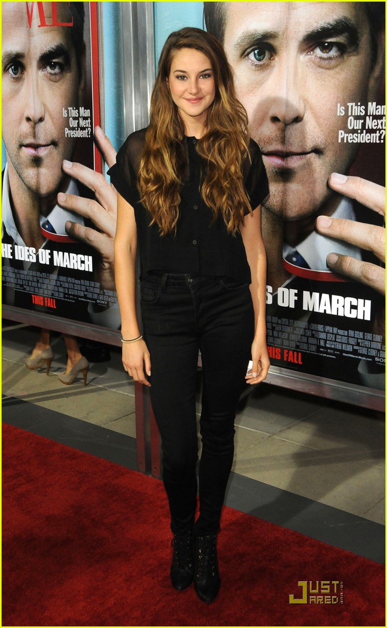 shailene woodley ides march 12