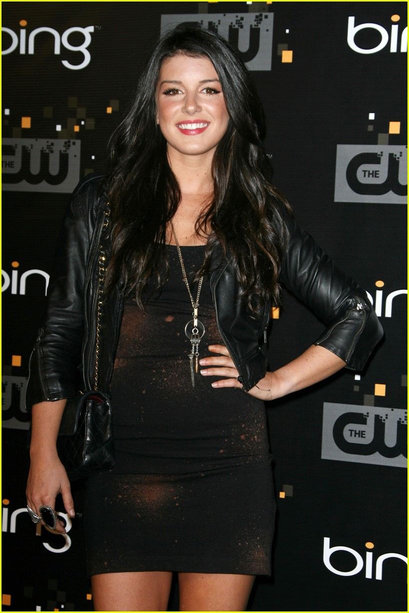 shenae grimes cw party 05