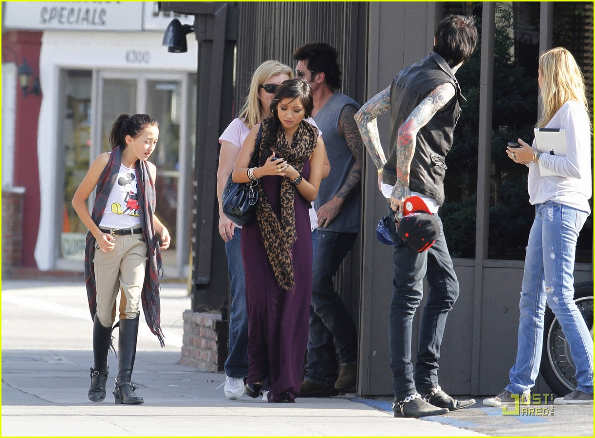 brenda song cyrus family 04