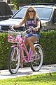 Tisdale-bike ashley tisdale bike ride 01