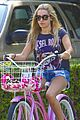 Tisdale-bike ashley tisdale bike ride 03