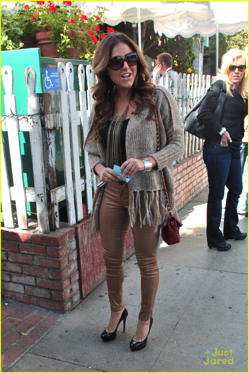 cassie scerbo ivy lunch 10