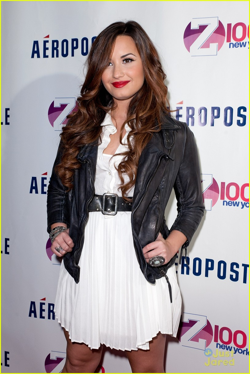 demi lovato z100 jingle ball 11
