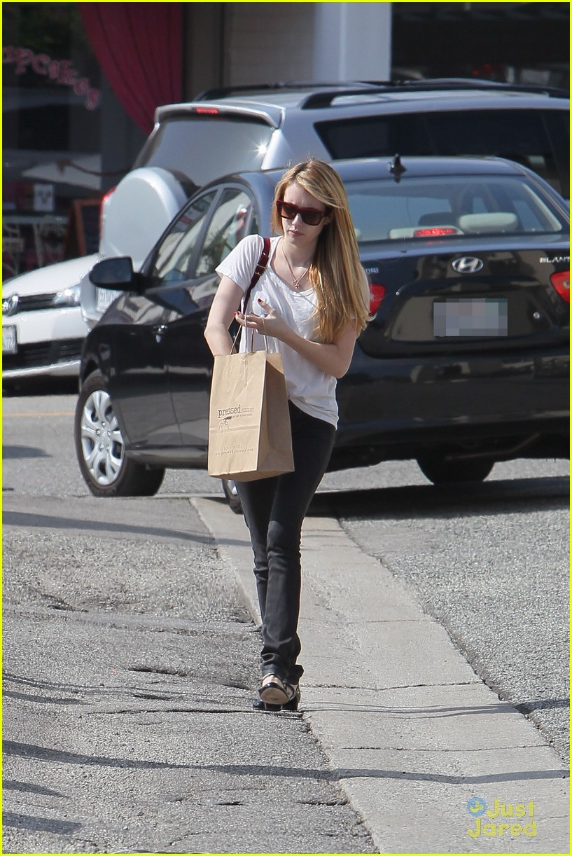 emma roberts mulberry bag 08