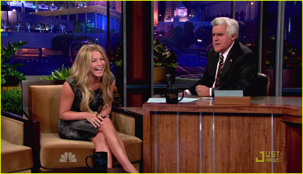 julianne hough jay leno 09