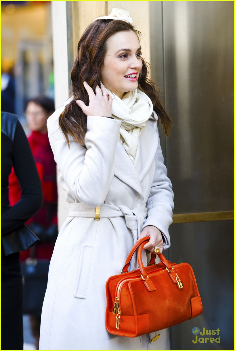 leighton meester wool coat 15