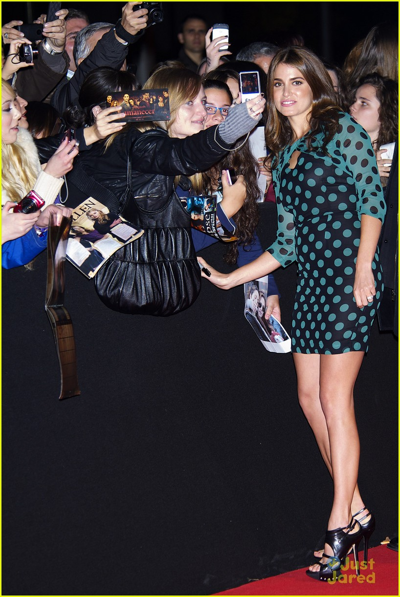 nikki reed rathbone spain premiere 22