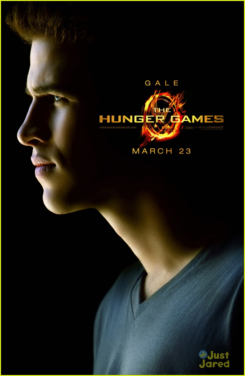 the hunger games character posters 02