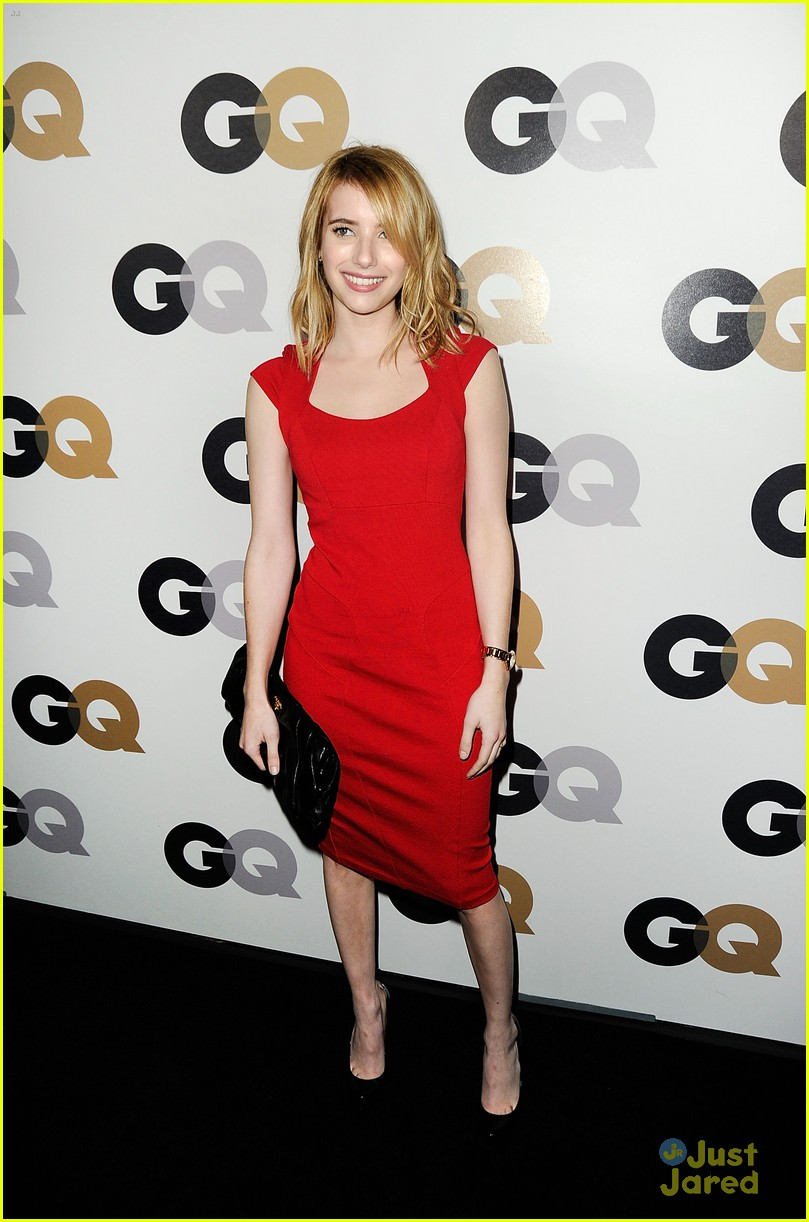 emma roberts gq party 01