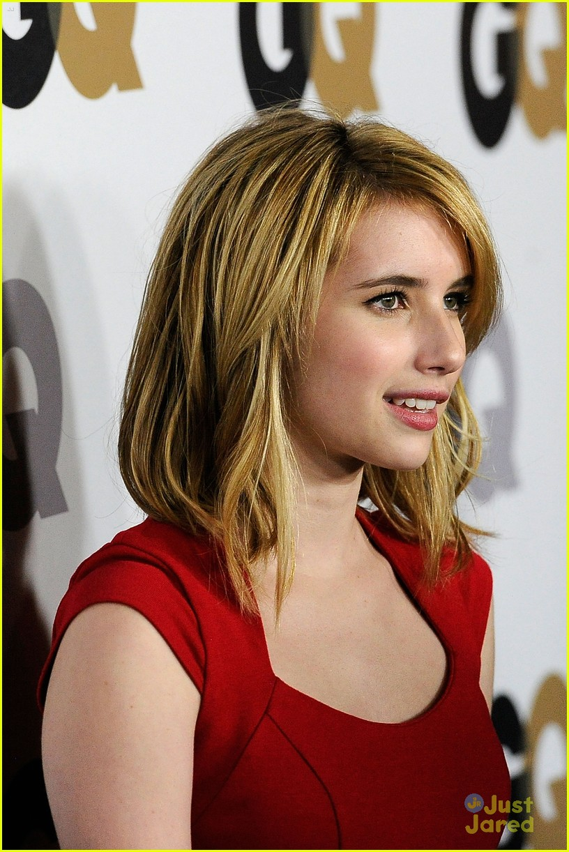 emma roberts gq party 05