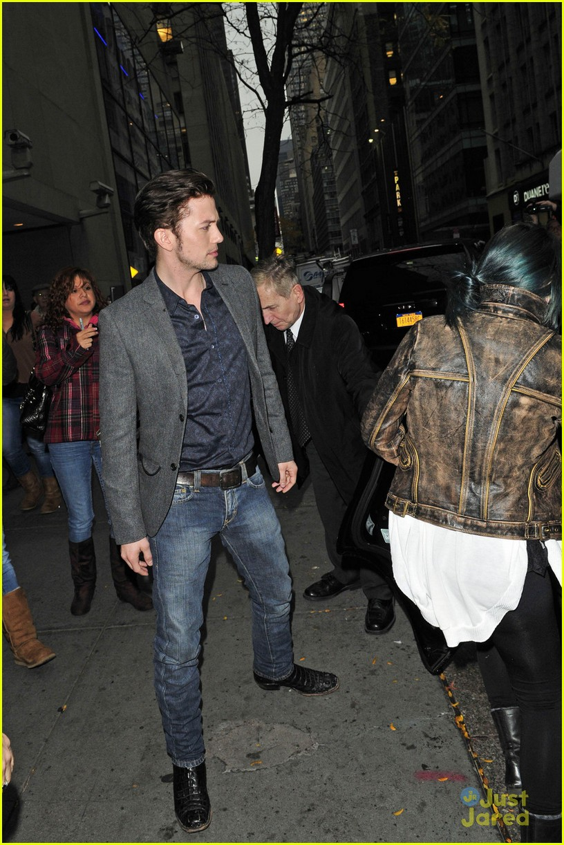 jackson rathbone today show exit 07