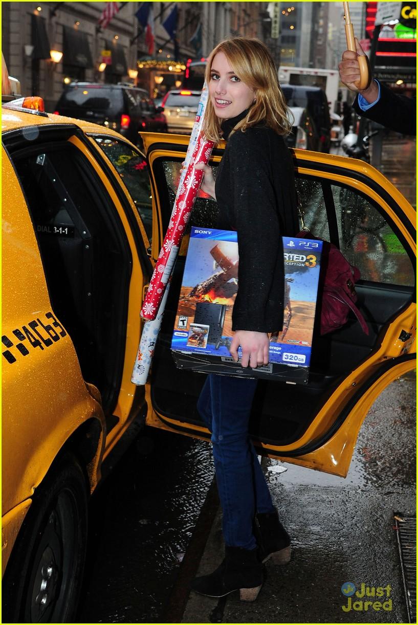 Emma Roberts: Playstation Bundle for Boyfriend Chord ...