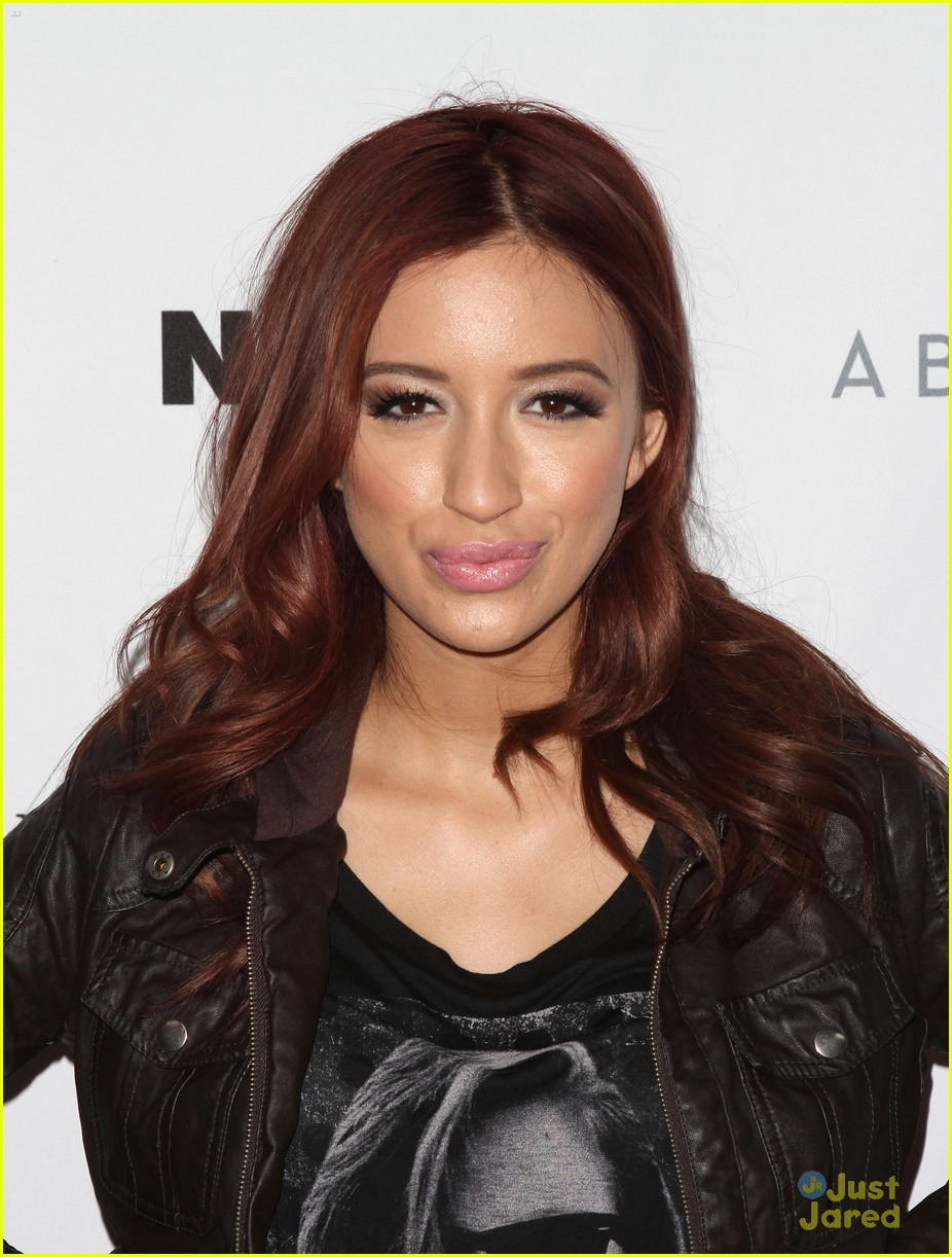 christian serratos nylon guys party 01