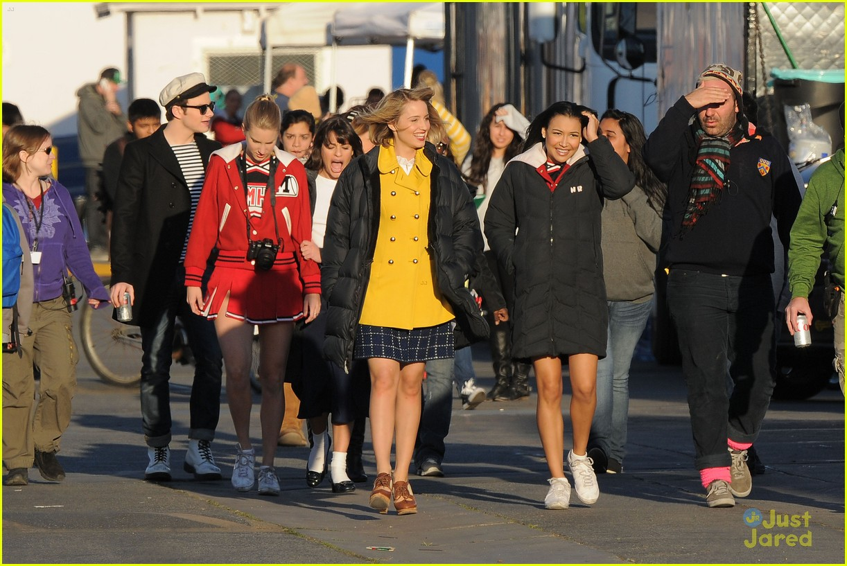 dianna agron grease glee 03