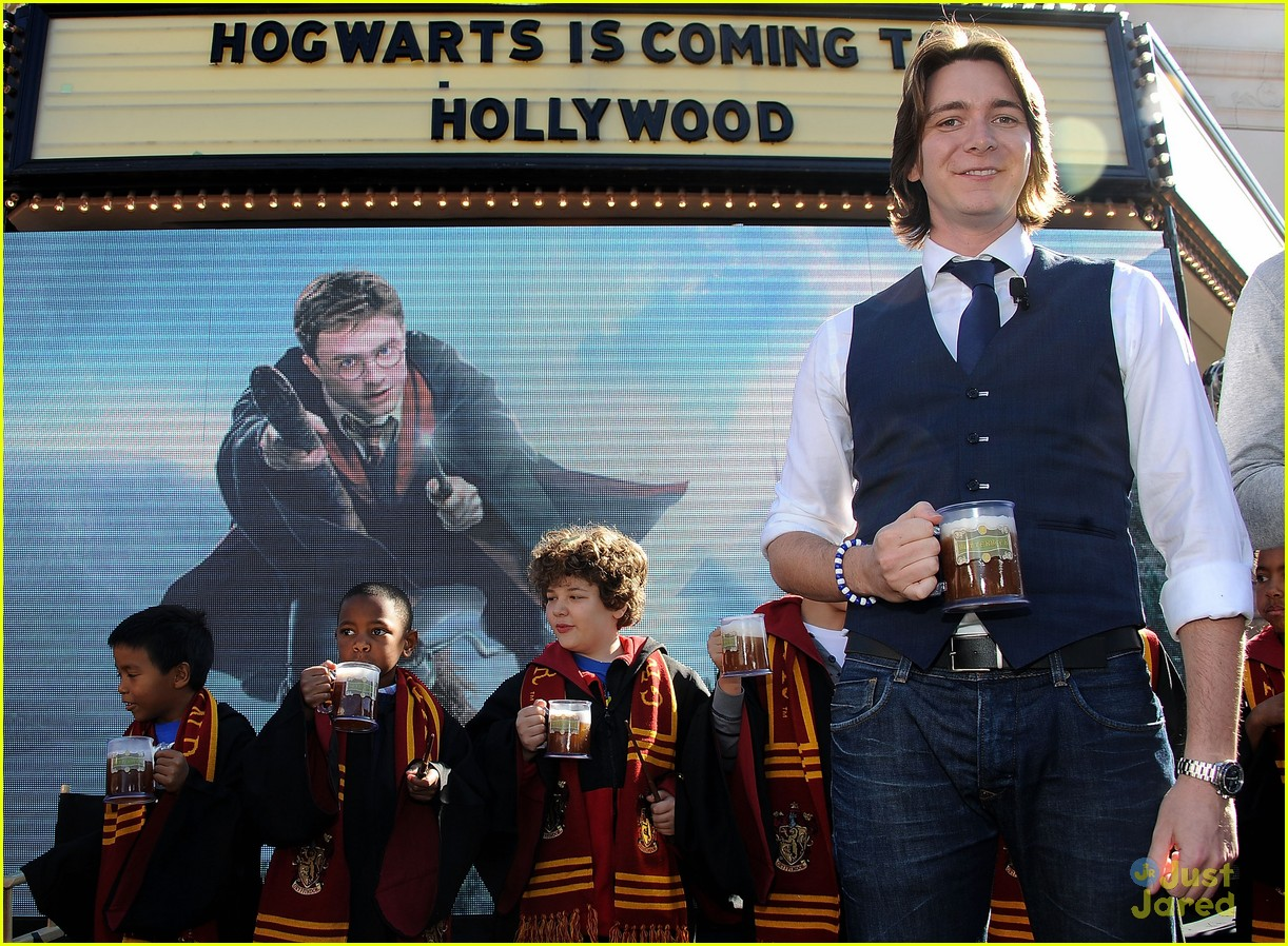 james oliver phelps hogwards hollywood 12