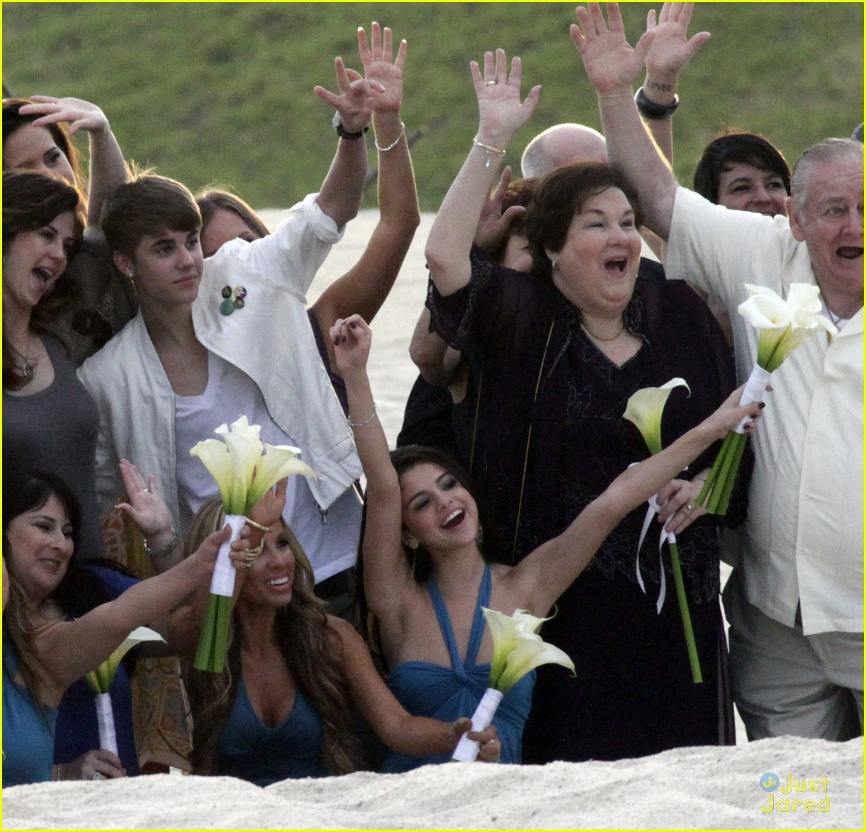 Selena Gomez & Justin Bieber: Wedding Party Pair | Photo ... джастин бибер свадьба