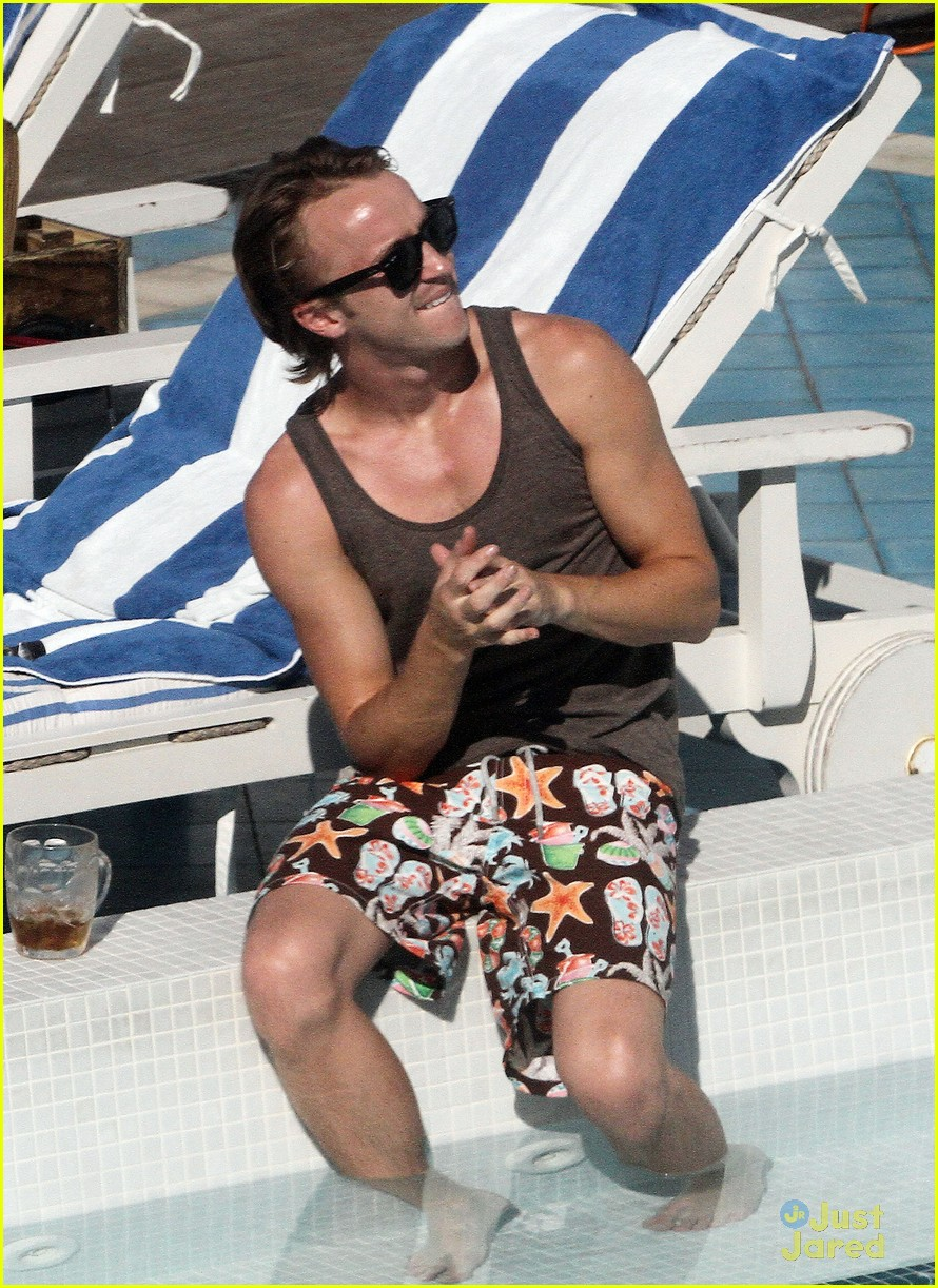tom felton pool jade olivia 13