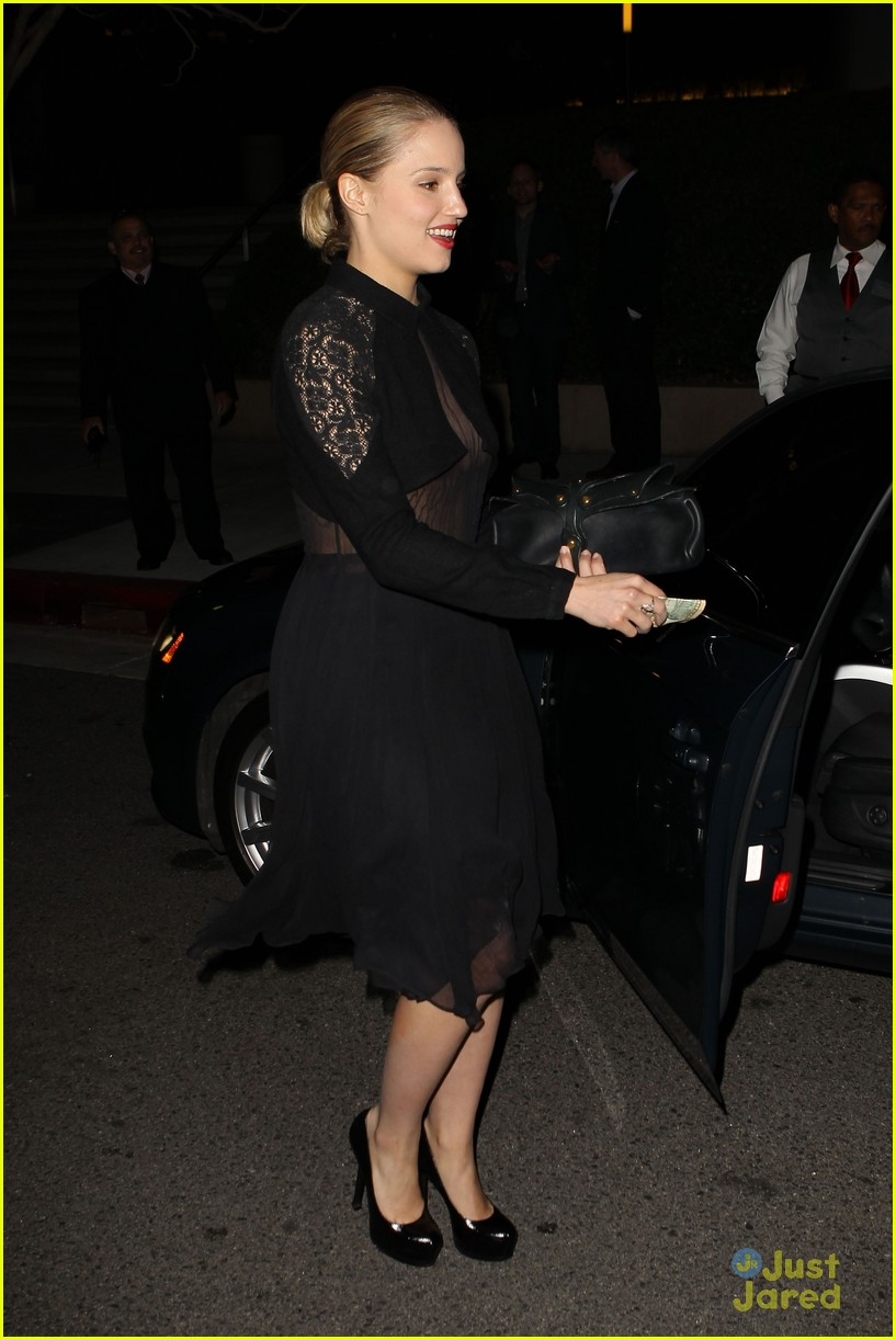 dianna agron golden globes 14