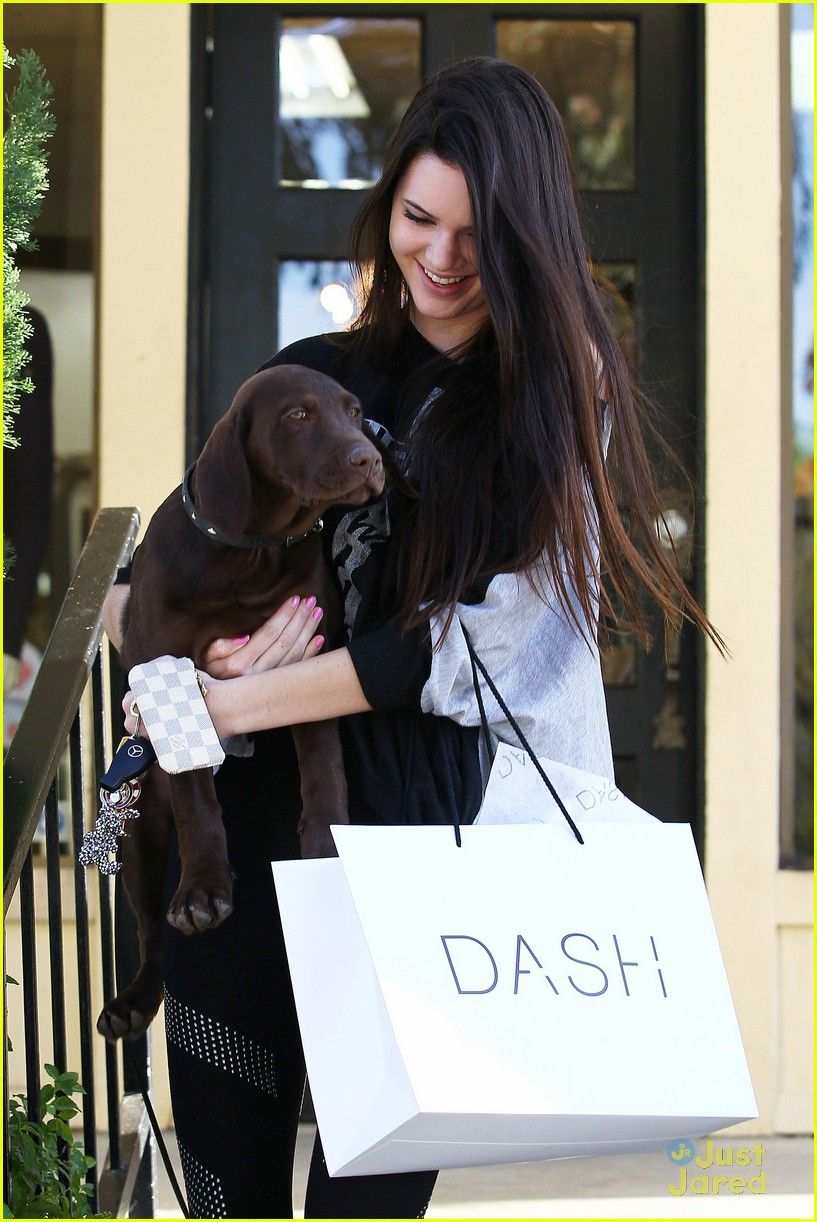 kendall jenner dog dash 14