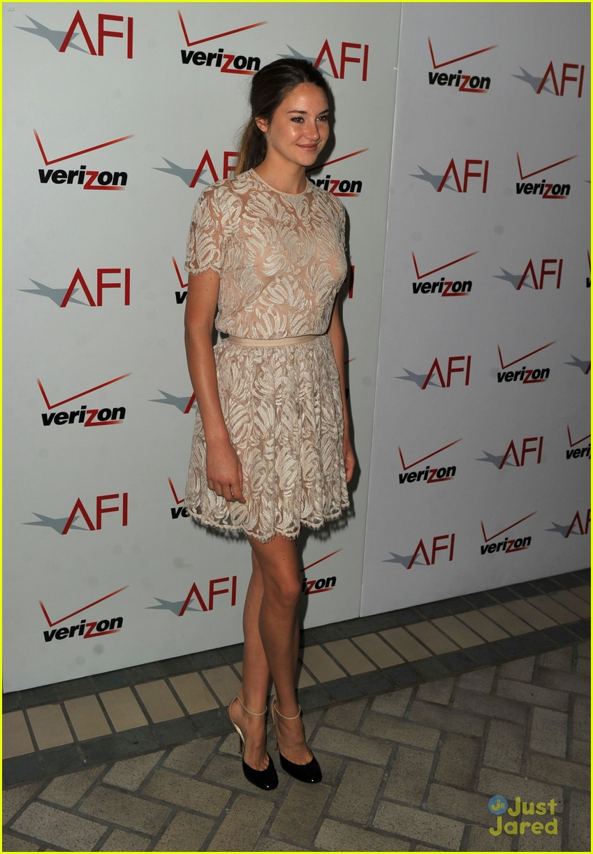 shailene woodley afi awards 11