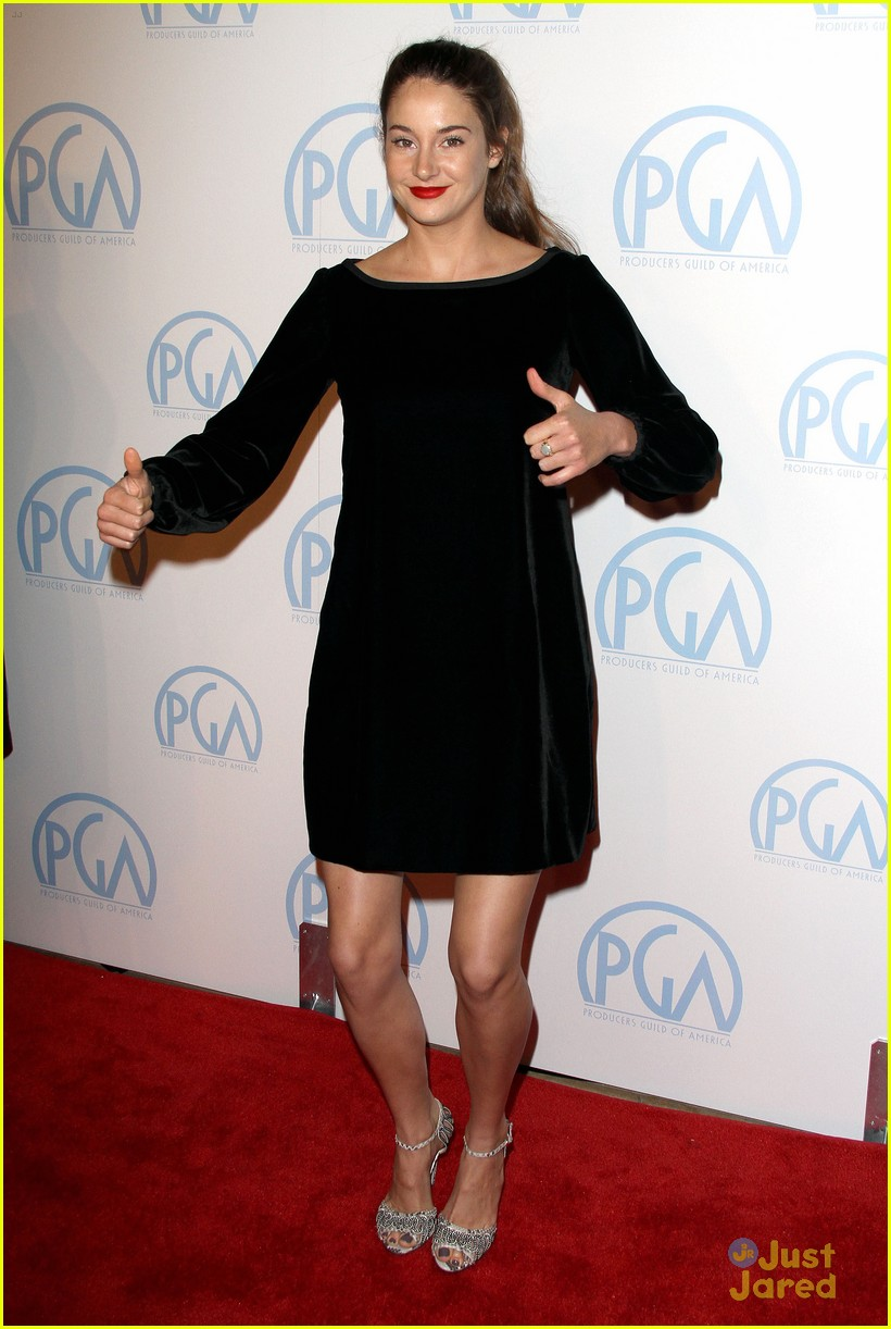 shailene woodley producers guild 10