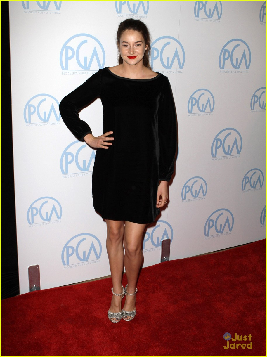 shailene woodley producers guild 11