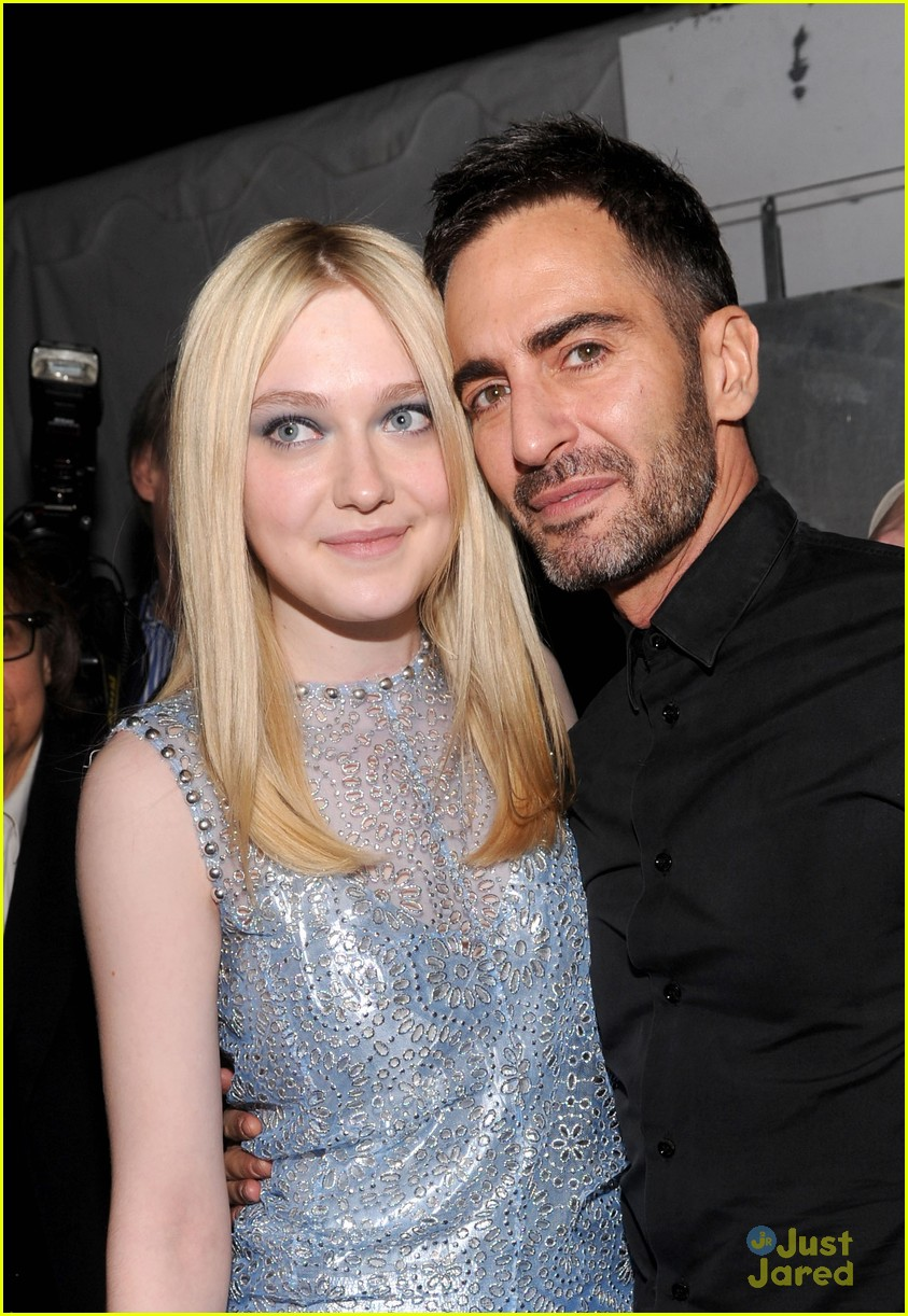 dakota fanning marc jacobs show 07