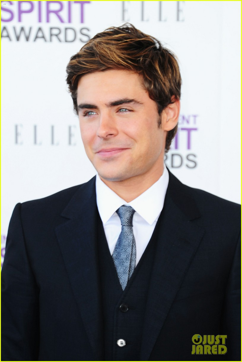 zac efron spirit awards 2012 07