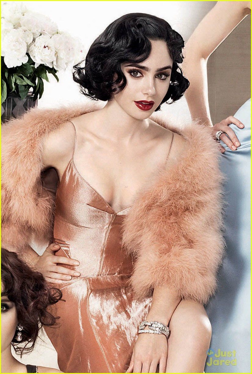 rooney mara lily collins glam annual vanity fair cover