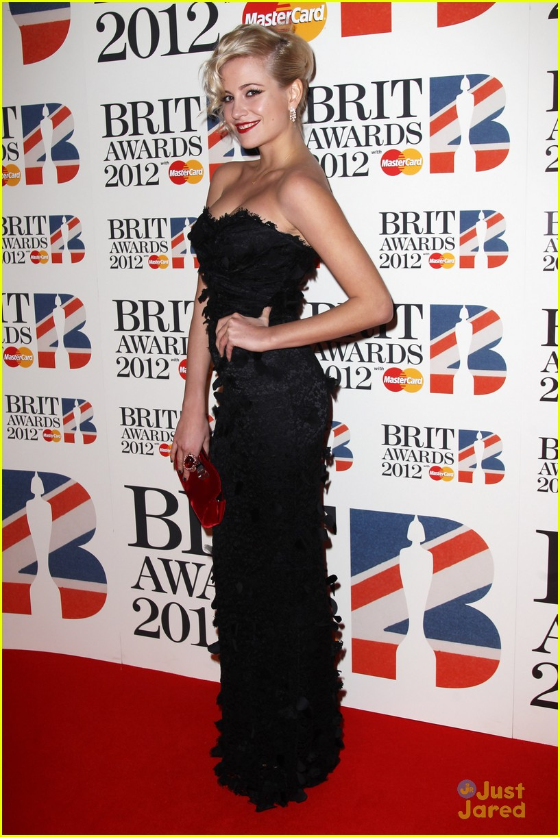 pixie lott brit awards 08