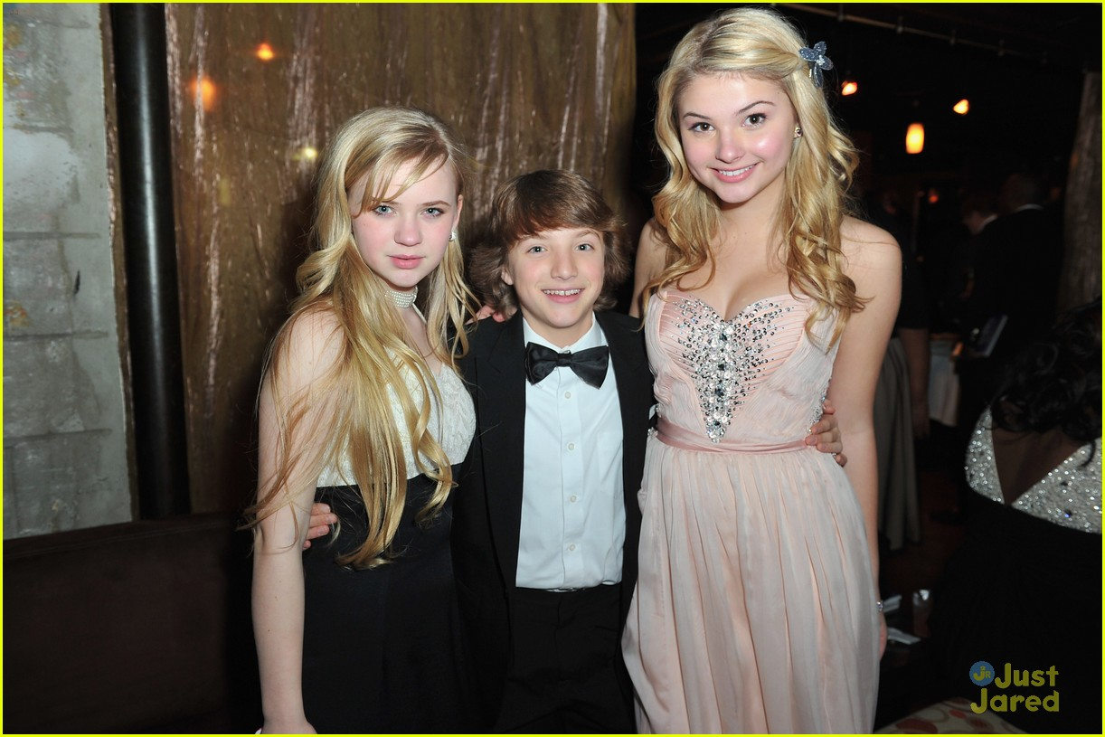 stefanie scott jake short image awards 04