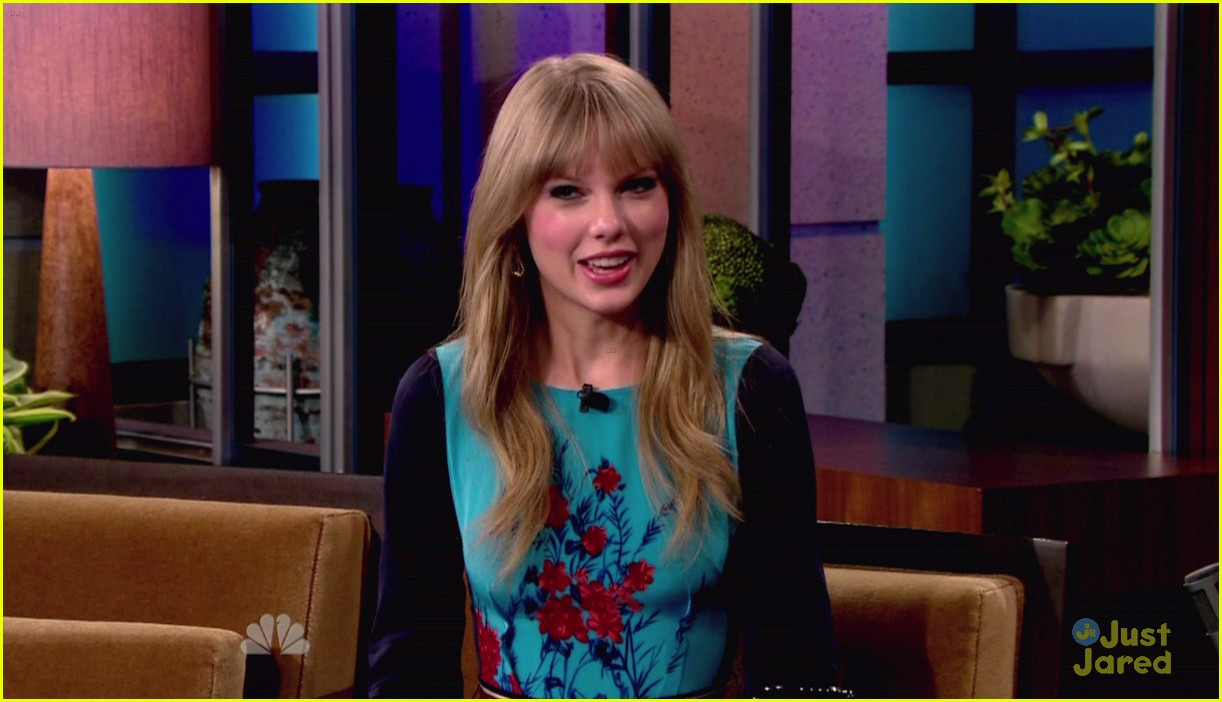 taylor swift jay leno 03