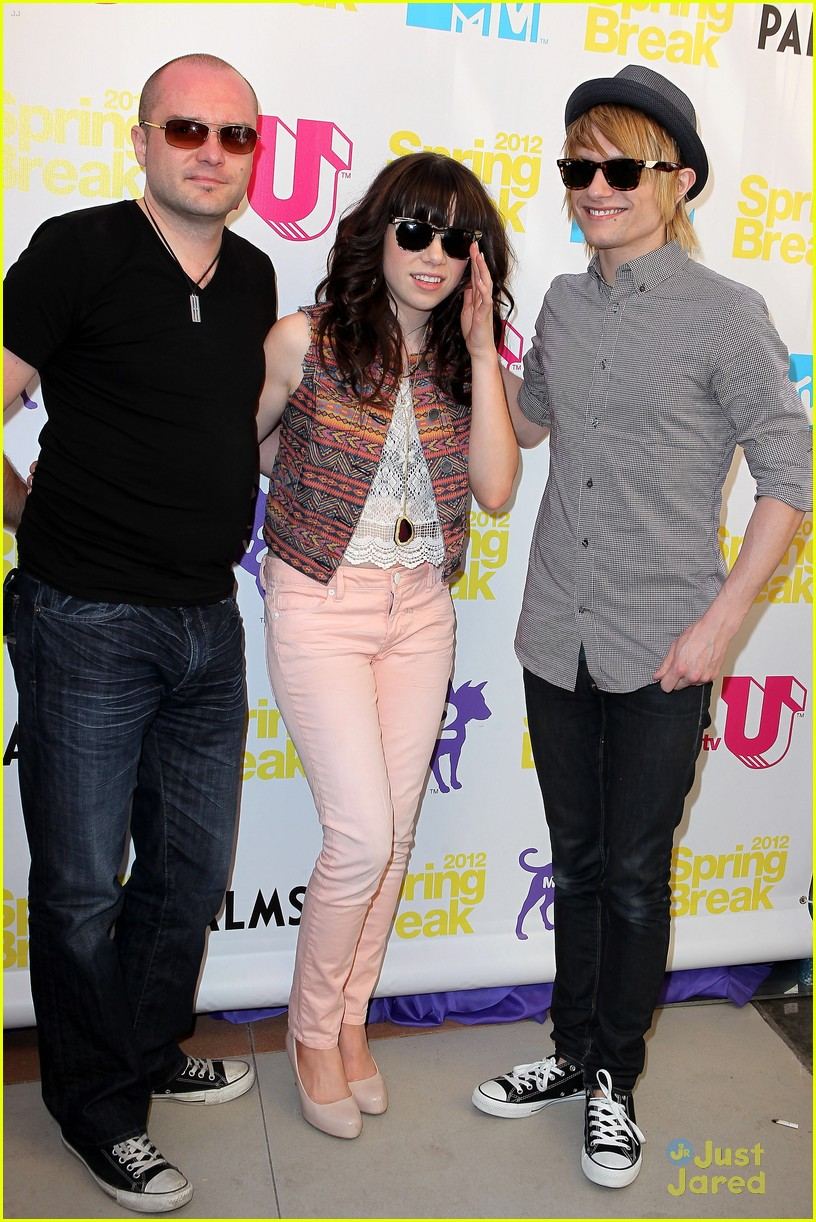 carly rae jepsen spring break mtv 11