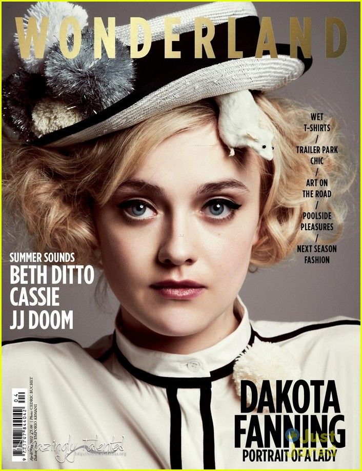 dakota fanning wonderland mag 07