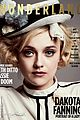 Dakota-wonderland dakota fanning wonderland mag 07