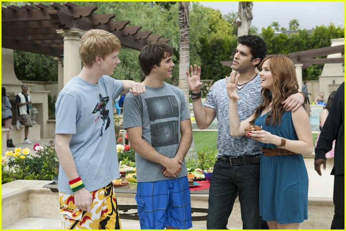 debby ryan zeke luther 10