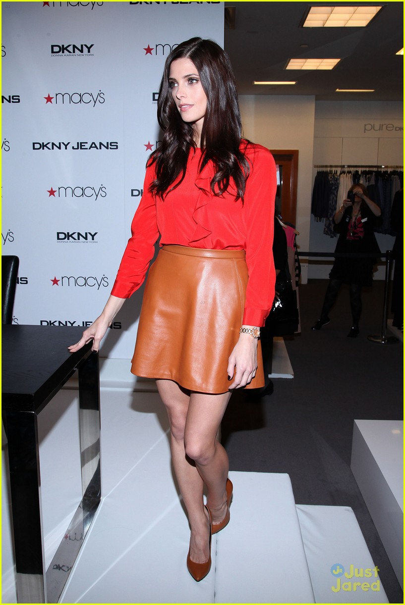 ashley greene dkny macys 15