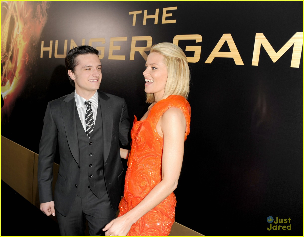 josh hutcherson thg premiere 09