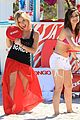 Lucy-ashley lucy hale ashley benson bongo beach 11