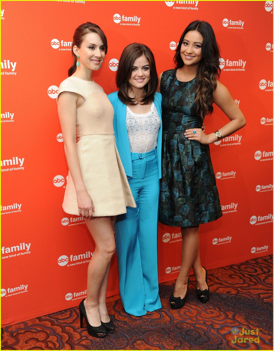troian lucy shay gma upfronts 01
