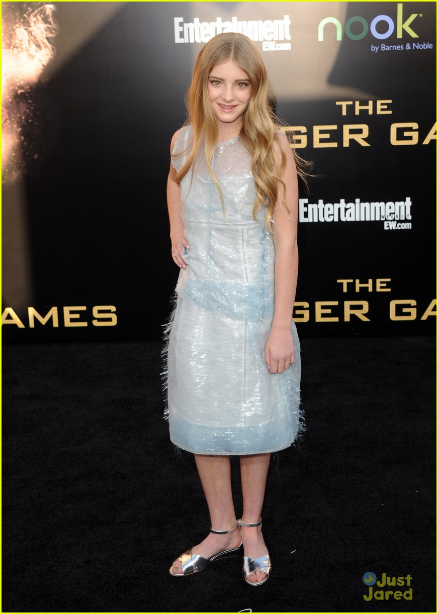 willow shields thg premiere 02