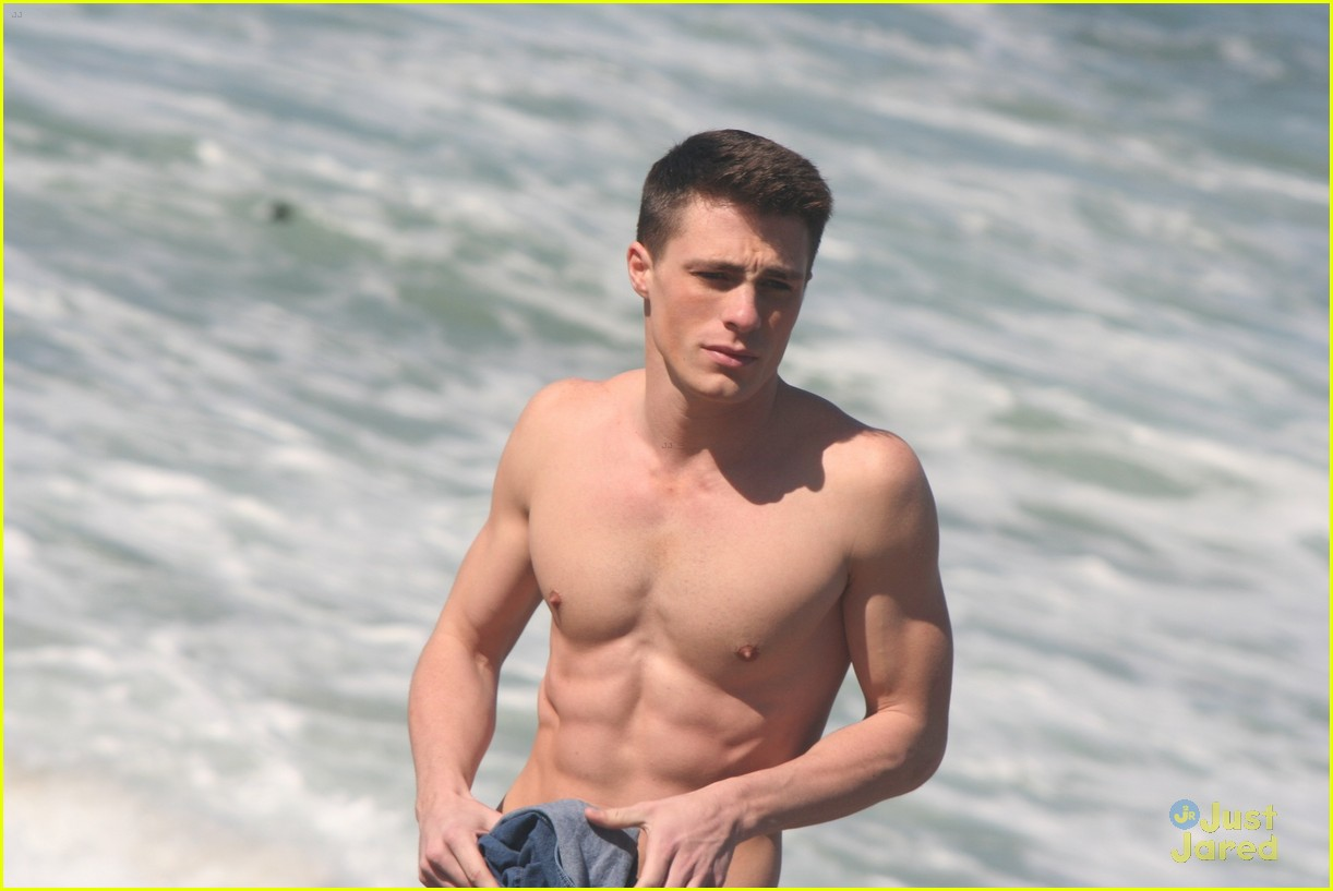 colton haynes beach day 16